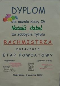 Rachmistrz Powiat 2015
