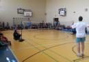 Pokazowy trening badmintona