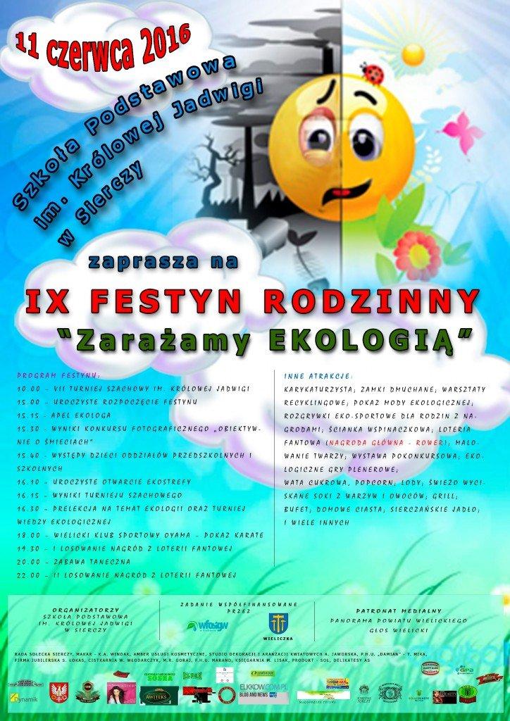 Program Festynu Siercza 2016