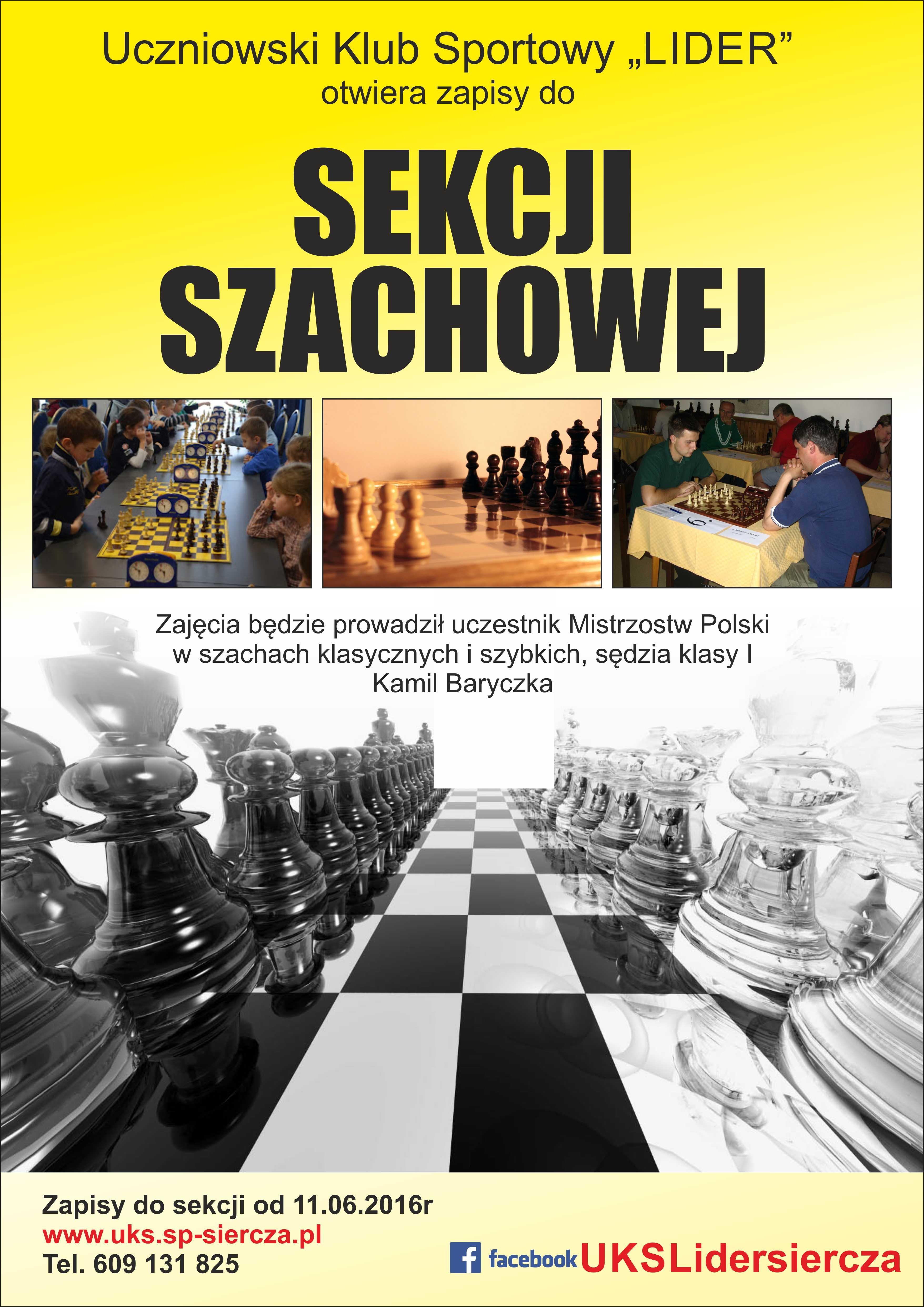 plakat a3 - szachy