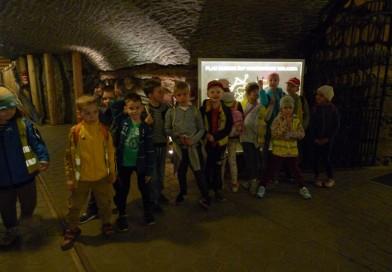 Klasa Ia na wycieczce w Kopalni Soli w Wieliczce