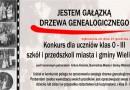 GMINNY KONKURS RODZINNY NA DRZEWO GENEALOGICZNE DLA UCZNIÓW KLAS 0 -III