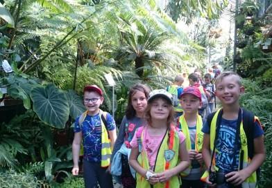 Wycieczka klasy 2a do Ogrodu Botanicznego