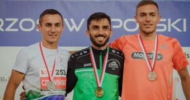 II miejsce w MP w biegu na 1500m