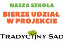 Tradycyjny Sad – sadzenie drzewek!