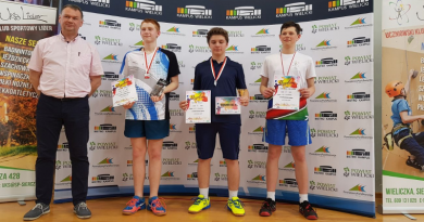 III Ogólnopolski Turnieju Badmintona Wielicki Cup