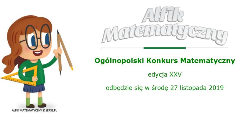 Alfik matematyczny 2019- wyniki