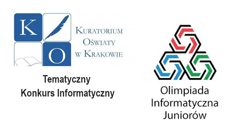 Rozstrzygnięcie XIV Olimpiady Informatycznej Junior i Tematycznego Konkursu Informatycznego
