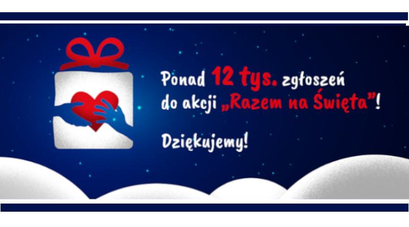 """Podziękowanie za udział w akcji """"Razem na Święta""""_2021"""