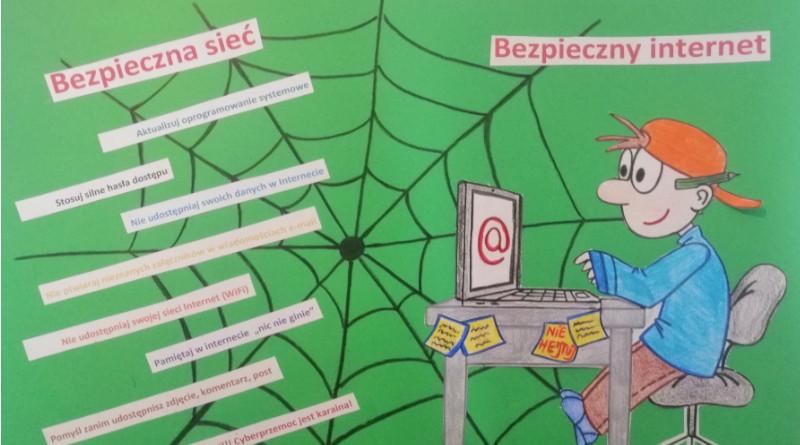 """""""Dzień Bezpiecznego Internetu: Działajmy razem!"""" w naszej szkole"""