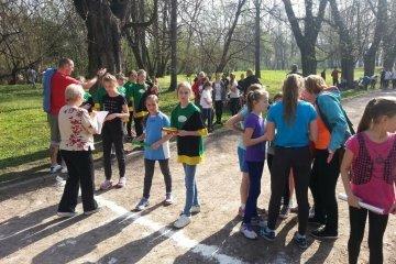 Gminne sztafetowe biegi przełajowe 07-04-2016