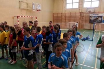 Gminny turniej badmintona 08-01-2016