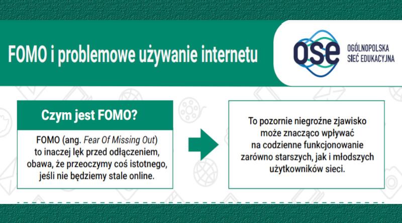 FOMO i problemowe używanie internetu – bezpieczni w sieci z OSE